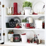 Christmas Hutch Decor