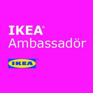 IKEA Brand Ambassadör Badge