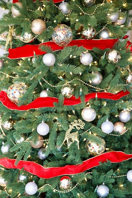 Our Classic Christmas Tree | JustAGirlAndHerBlog.com