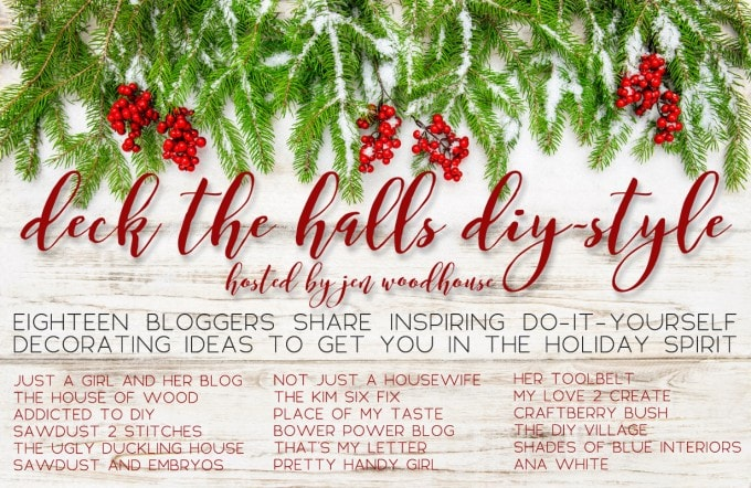 Not sure what to put on your floating shelves this Christmas? This post can help! Easy, beautiful decorating ideas that are inexpensive too! Click through to the post to get the scoop! | JustAGirlAndHerBlog.com