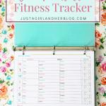 FREE Printable Fitness Tracker!