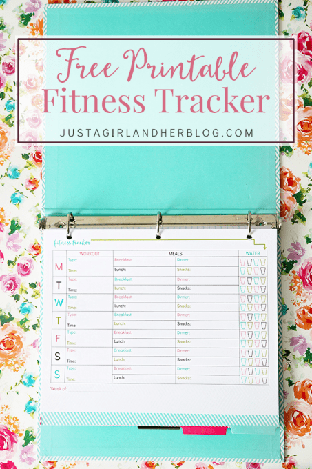 FREE Printable Fitness Tracker!