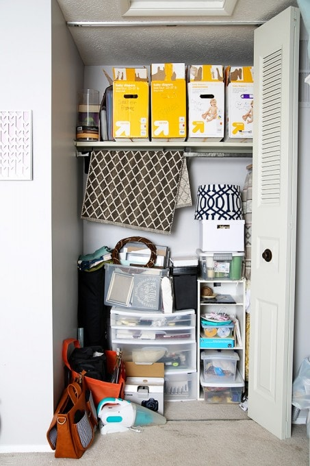 I Love How She Organized Her Craft Closet To Make It Totally Functional And  Beautiful Without