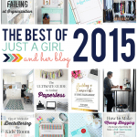 The Best of Just a Girl and Her Blog 2015