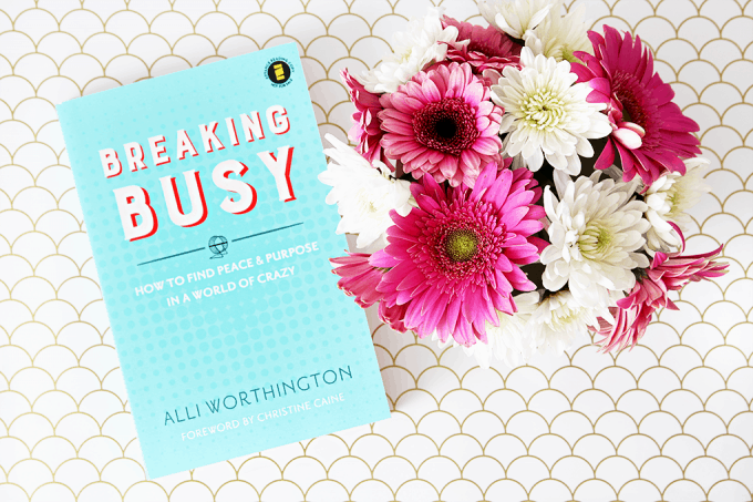 This post reveals the real reason we're always too busy and can never seem to get enough done. Love her insight on time management and getting out of the busy-ness rut! Click through to the post to read more!