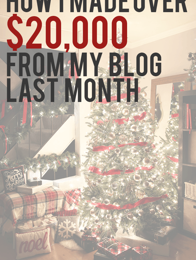 This girl makes a full time income from blogging and talks all about how she does it! Click through to the post to see how!