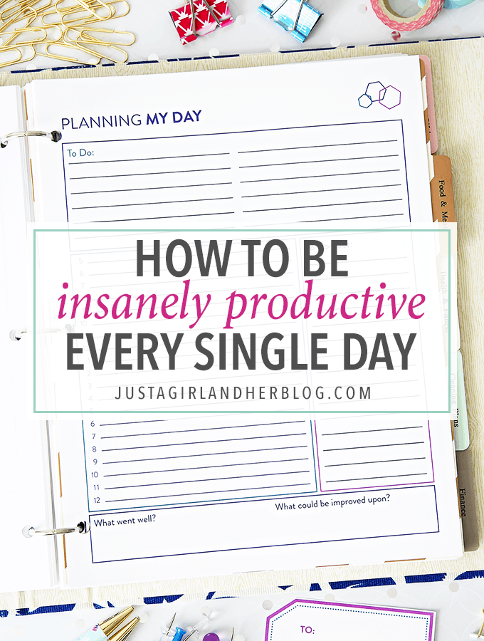 Time blocking has helped me become so much more productive and make the most of my time! My productivity is through the roof! Click through to the post to get this helpful free printable for time blocking!