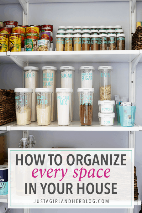 How to Organize Every Space in Your House