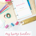"The new ""Simplify"" is here! {And Our Home Binder Tour!}"