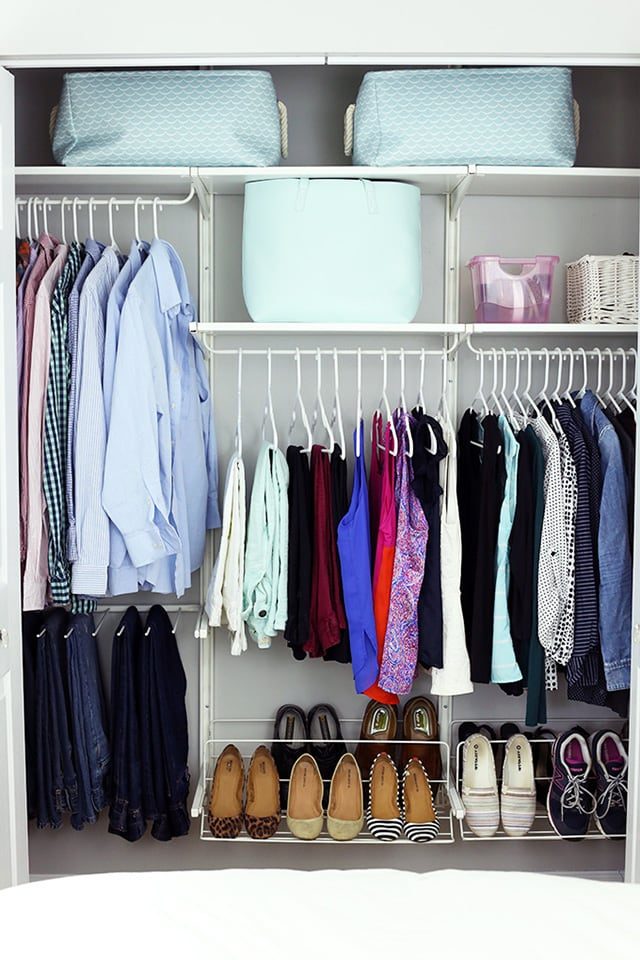 This Post Is Proof That Small Closets Can Be Neat And Organized! Love These  Organization