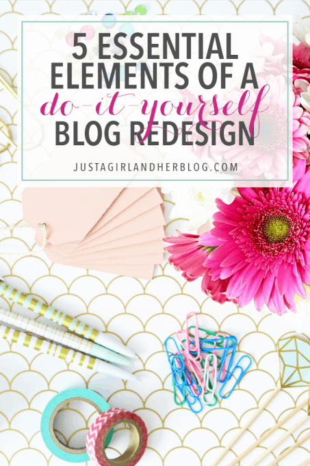 5 Essential Elements of a Do-It-Yourself Blog Redesign