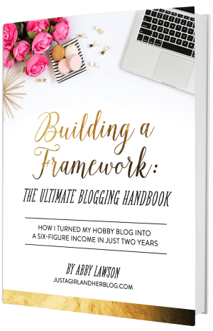 This girl has turned her blog into a six figure business by writing eBooks, and she talks about how she did it in this post! Click through to the post to read more!