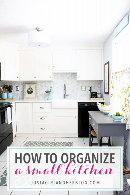 How To Organize A Small Kitchen Abby Lawson