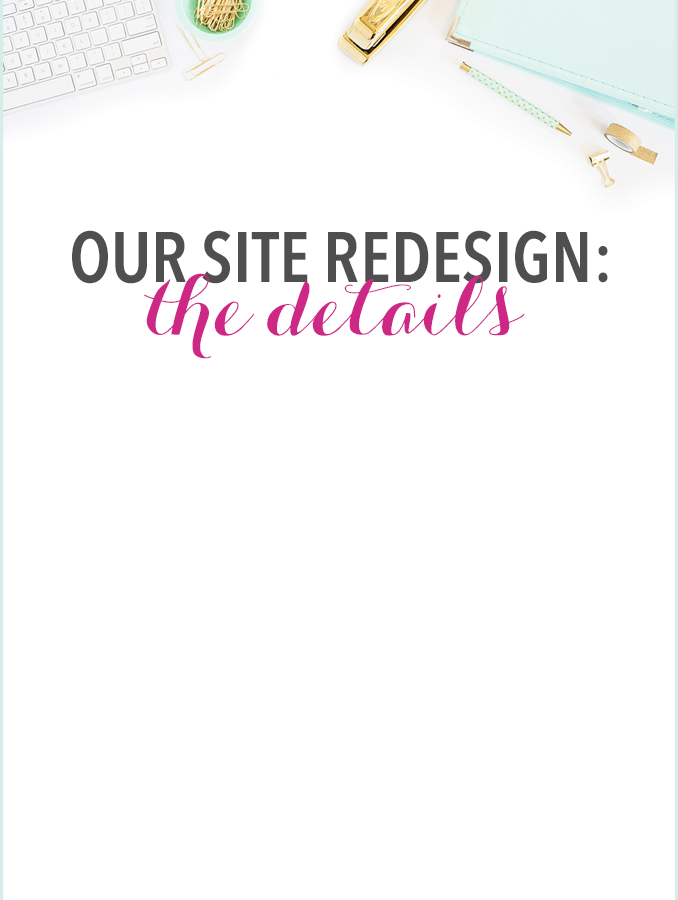 Love this beautiful blog design! It's pretty, feminine, and easy to navigate! Click over to the post for details!