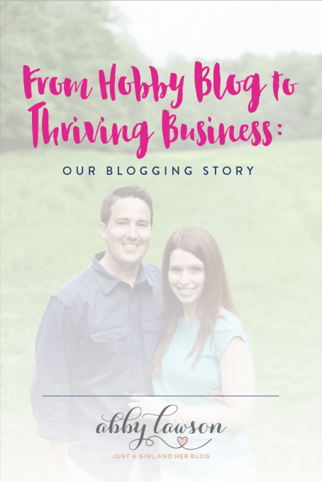 Learn how we turned my little old blog into a thriving, multi-six-figure income! Here's our story...