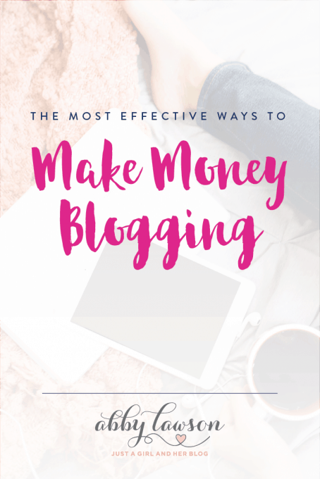You have a blog, now what? Learn the most effective and profitable ways to make money blogging!