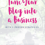 Is a Blog a Business?