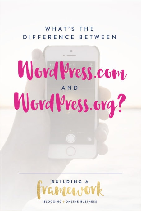 What's the Difference Between WordPress.com and WordPress.org? Find the answer in this post!