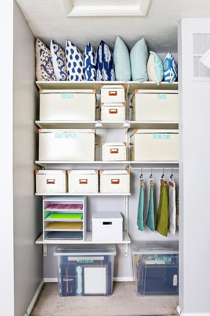 How to Use Labels to Organize Your Whole House - Just a Girl and Her ...