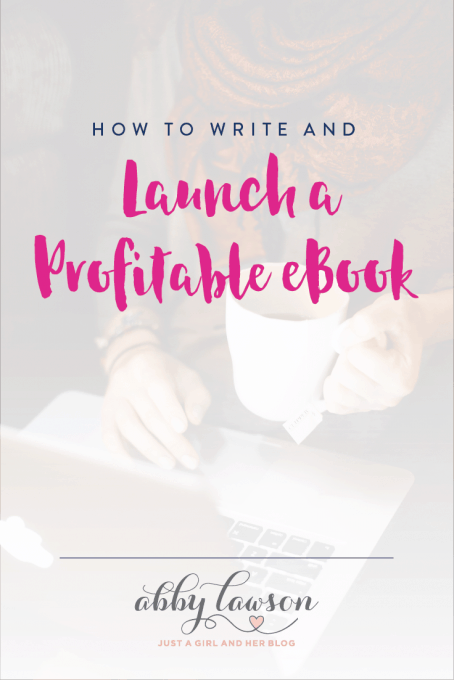 Learn how to write and launch a profitable eBook with this helpful post. Click through to find out how!