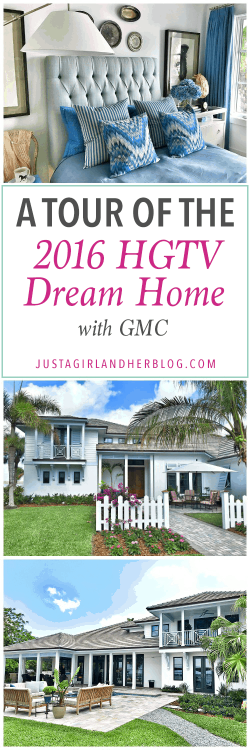 A tour of the gorgeous 2016 HGTV Dream Home! Click over to the post to see every stunning room!