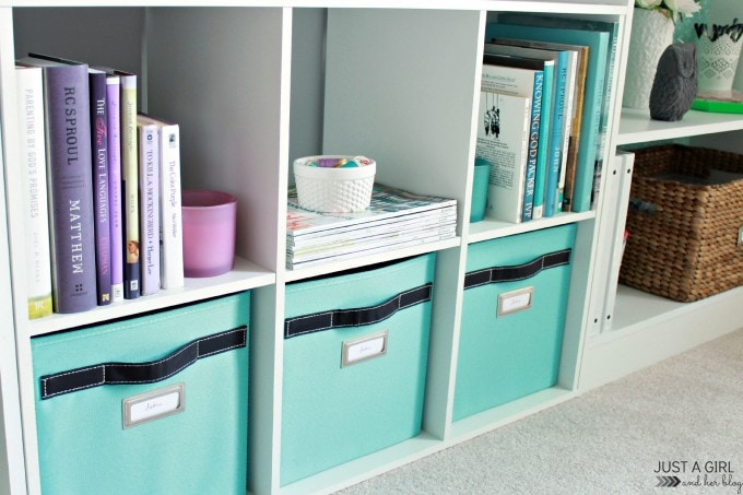 how to organize every room of the house with storage bins - just a