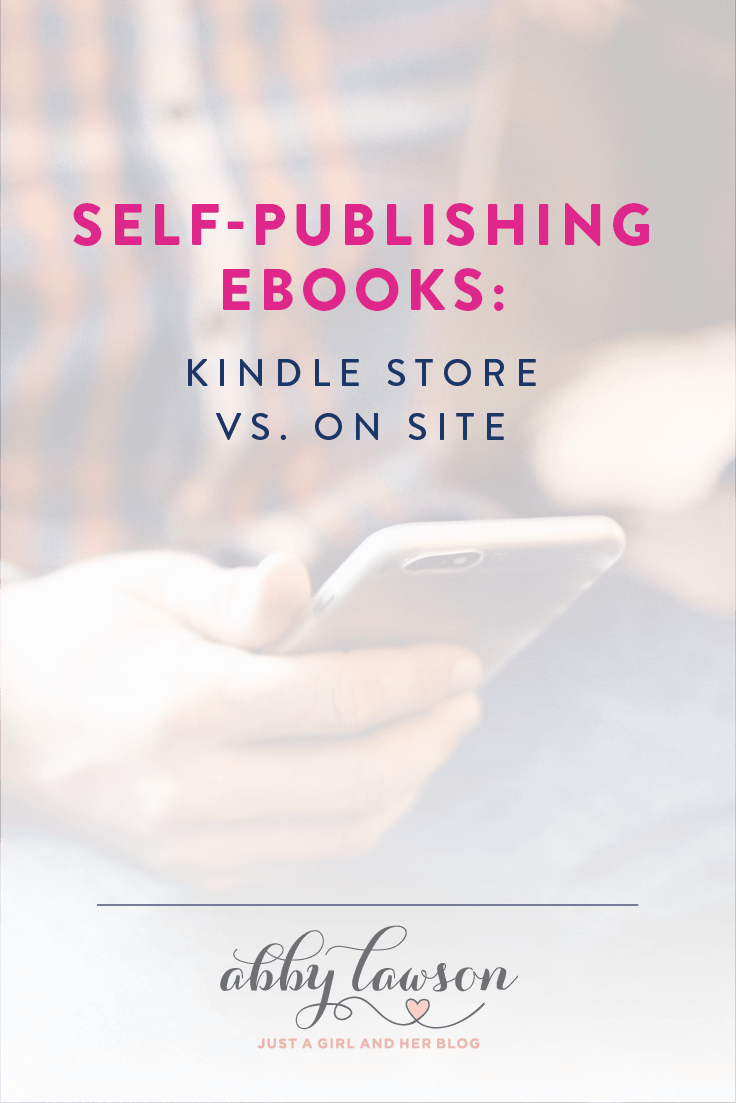 Thinking of writing an eBook? This post will help you decide between selling your eBook in the Kindle Store or directly on your blog or website.