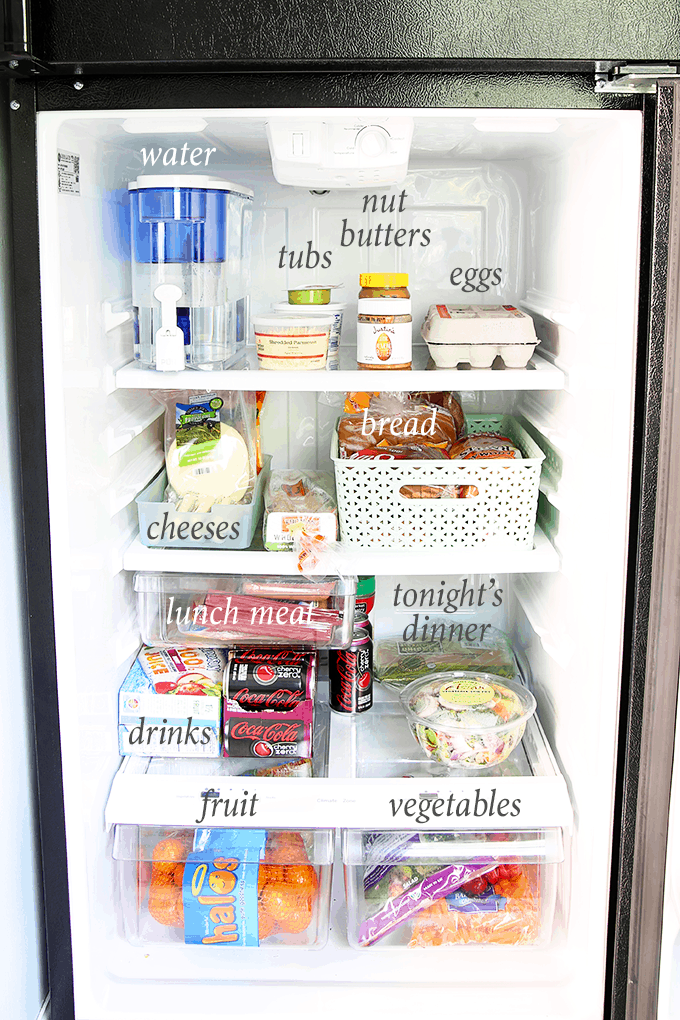 How To Organize A Small Refrigerator Abby Lawson