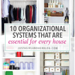 10 Organizational Systems that Are Essential for Every House