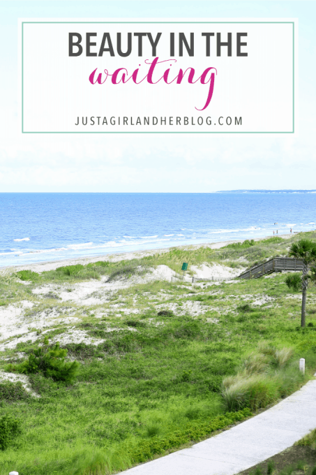 Sometimes the point is the journey, not the destination. There is beauty in the waiting. | JustAGirlAndHerBlog.com