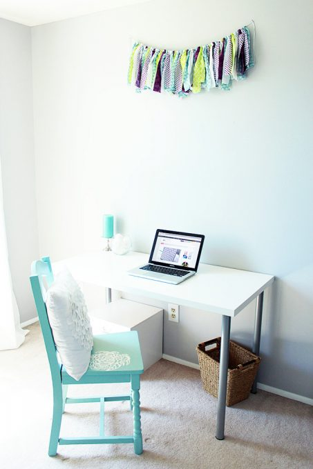 Home Office Decor, Just a Girl and Her Blog