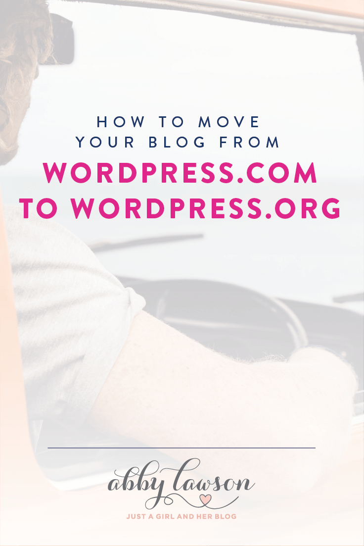 Learn how to move your blog from WordPress.com to a self-hosted WordPress.org blog and finally gain full control of your blog and business!