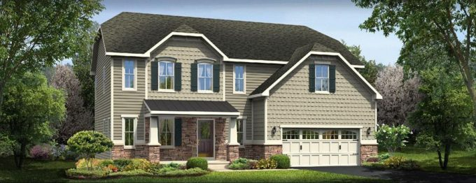 A preview of our new home build with Ryan Homes! This is the Palermo, Elevation L.