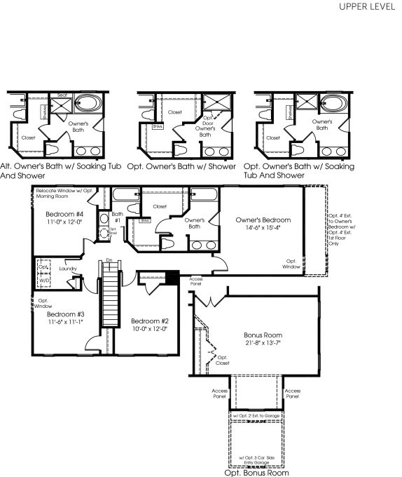A preview of our new home build with Ryan Homes! This is the Palermo upper level floor plan.
