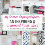 An Inspiring and Organized Home Office