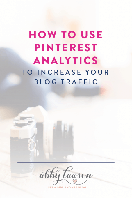 Learn how to use Pinterest analytics to increase your blog traffic with a few simple metrics to track and understand.