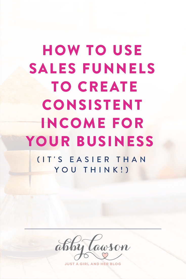How to Use Sales Funnels to Create Consistent Income for your Business
