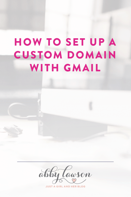 Learn how to create professional custom email address but still keep all the benefits of using Gmail and the Google Apps suite of tools!