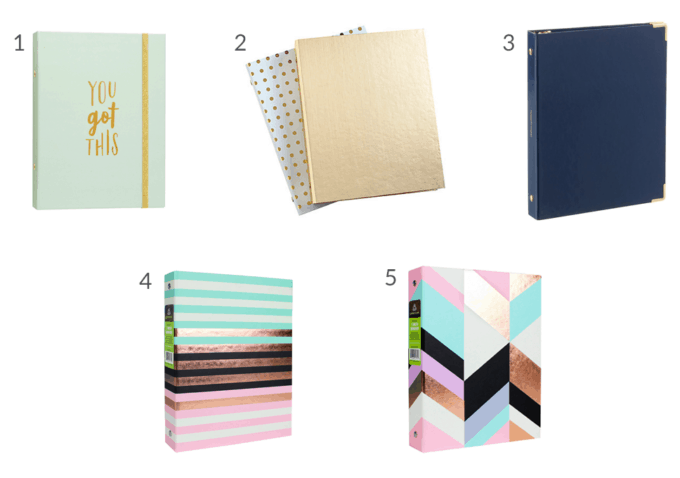 Small 3 Ring Binders, Simplify Home Binder, Home Organization- Home Binder and Planner Tour, organization, organizational printables, organized, productivity, planning, productive, pretty printables, organize your life, organized life, home management binder, how to get organized