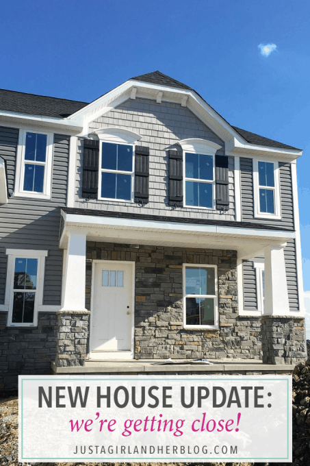 This blogger is building a new construction house-- a Palermo with Ryan Homes-- and gives updates along the way. It's so neat to see all of the progress on a new home build! Pop over to the post to read more!