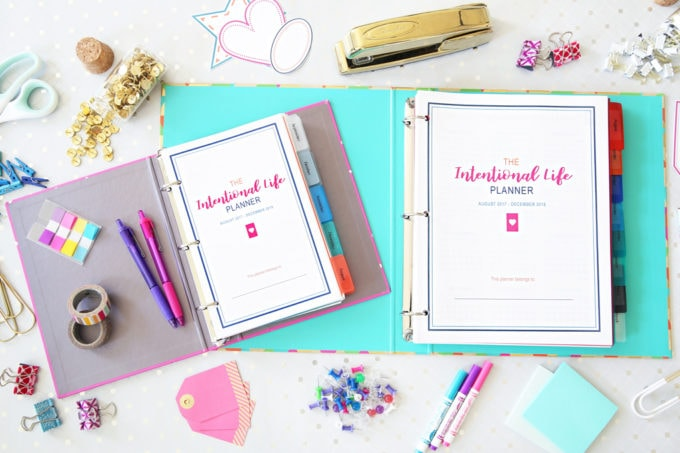 The Intentional Life Planner, Home Organization- Home Binder and Planner Tour, organization, organizational printables, organized, productivity, planning, productive, pretty printables, organize your life, organized life, home management binder, how to get organized