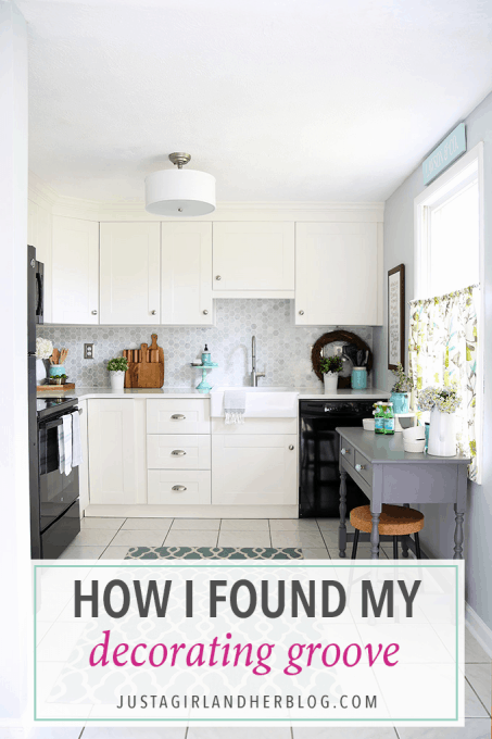 This is such an inspiring post about decorating and finding your decorating groove! Love!