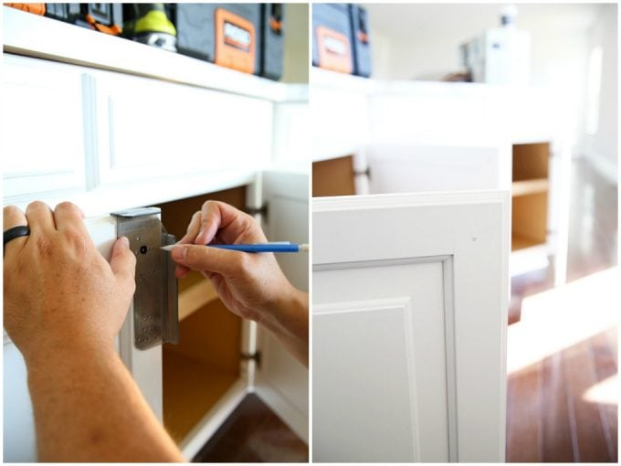 Such a useful guide for installing hardware on drawers and cabinets! Click through to the post to get all of the tips and tricks!