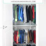 How to Create an Organized Kids' Closet {One Room Challenge, Week 4}