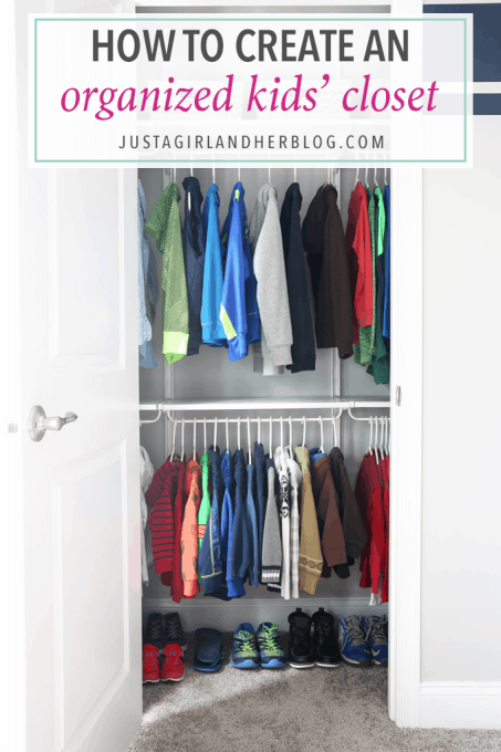 Home Decor How To Create An Organized Kids Closet Love This Post About
