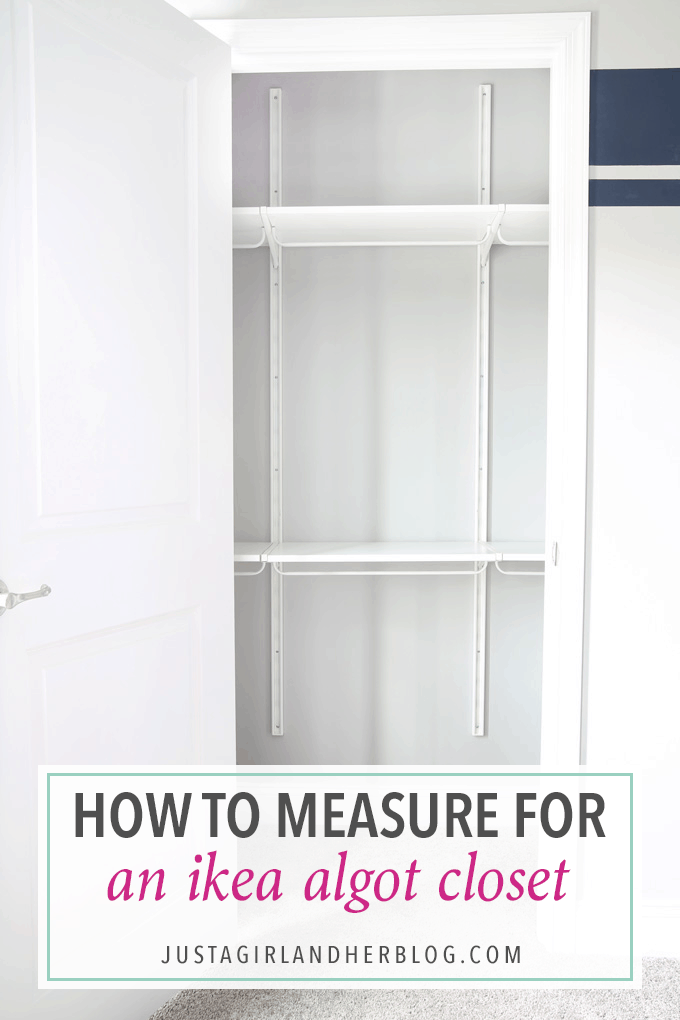 Home Decor How To Measure For An IKEA ALGOT Closet Ive Always Wanted Use IKEAS System But Had No Idea Where Start