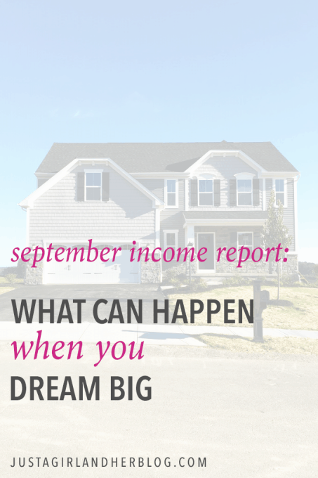 This couple blogs full time, and they share an income report each month that shows exactly what they make and how they make it! It's fascinating!