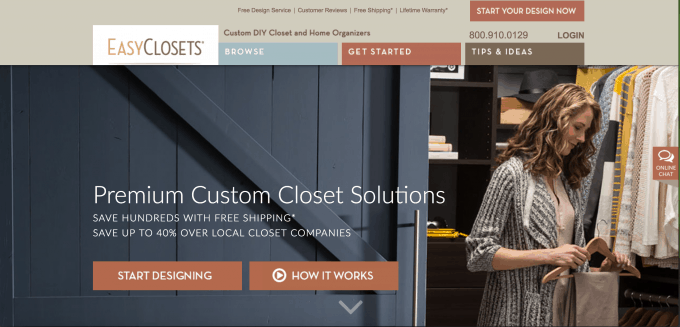 Love this plan for a new, custom walk in closet with EasyClosets! Click through to the post to see how they are getting organized and planning to maximize the storage space in the closet!