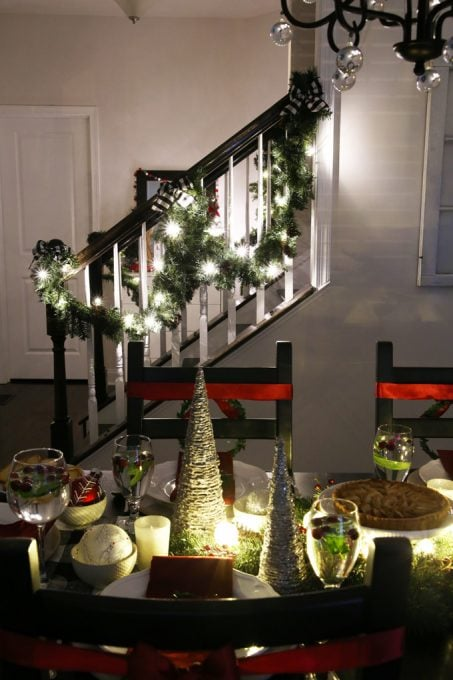 Home Decor - Christmas Nights Tour, Christmas home tour, Christmas decor, holiday decor, Christmas lights