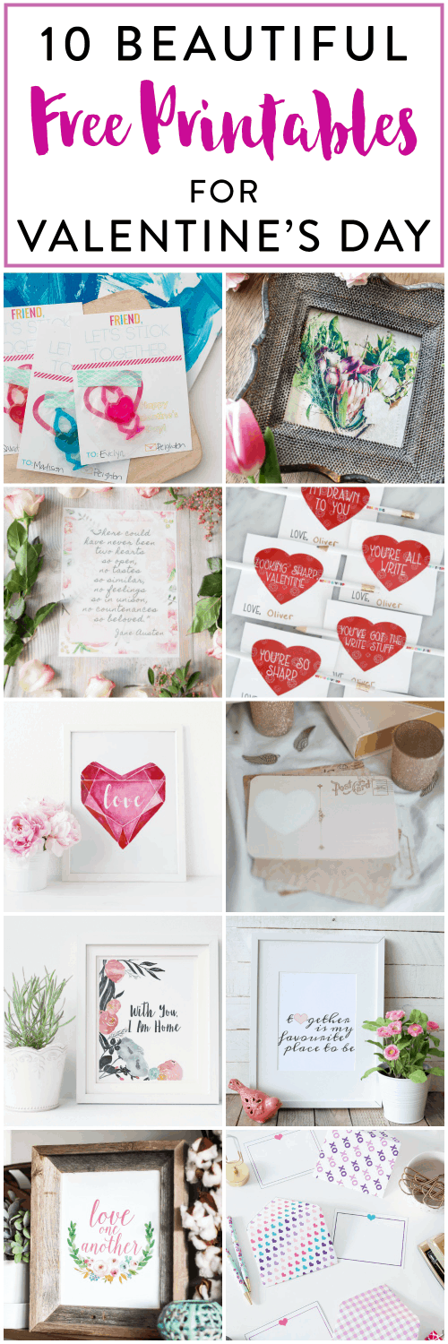 Holiday and Party- Free Printable Valentines, Valentine's Day Printables, Love Notes, Teacher Valentines, Friend Valentines, Printable Envelopes, Printable Cards, Free Printables